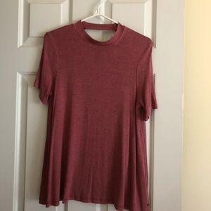 Mauve American Eagle 🦅 short sleeve shirt